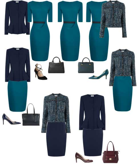 7-Outfits Caroline Wolf, Personal stylists, Personal Coach, Capsule Wardrobe