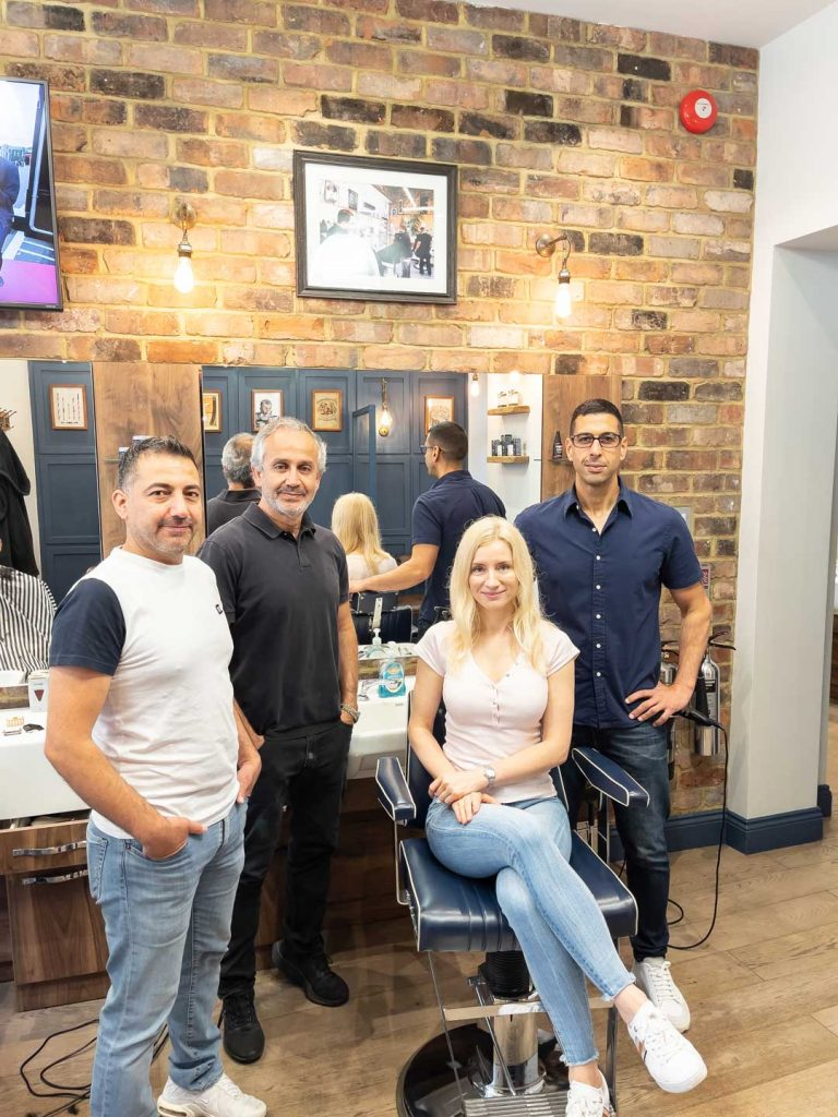 Alexander Barbers, Alexander Barbers HQ, Hammersmith Barbers, W6 Barbers, Hammersmith Haircut, Nicos Pavlou, Stavros Christoudolakis, Stav The Barber, Hammersmith Locals