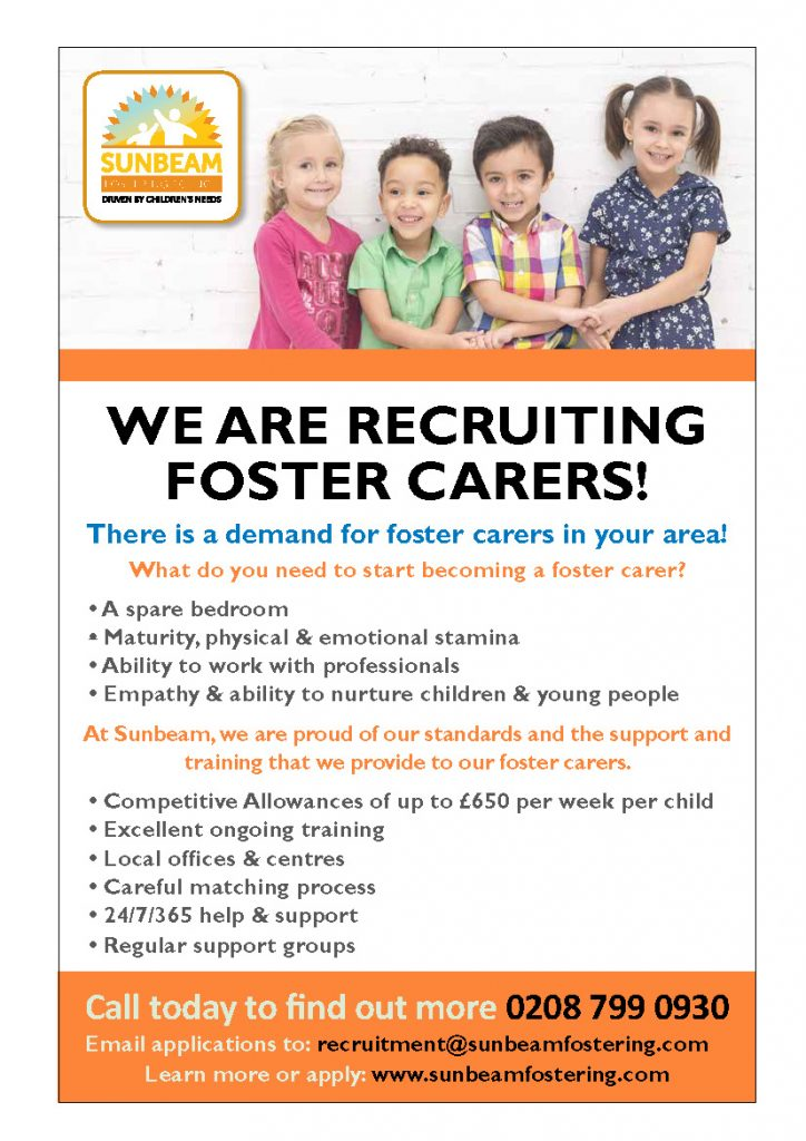 Sunbeam Fostering Agency, Fostering Agency, Fostering, Foster Care