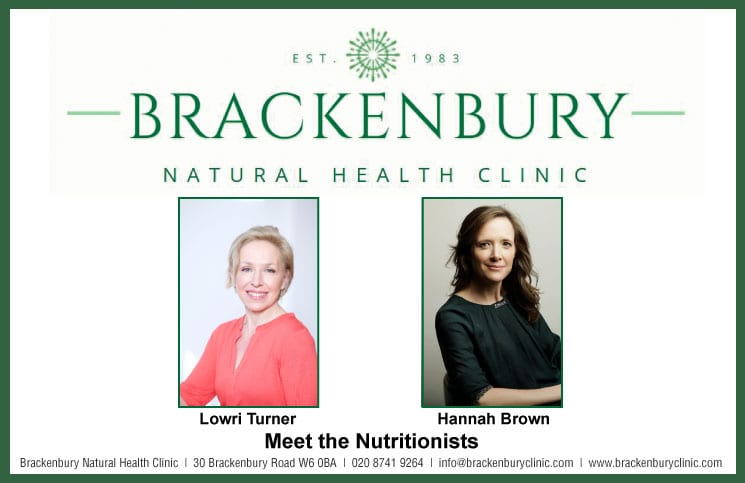 Brackenbury Natural Health Clinic: Meet the Nutritionists – Lowri Turner and Hannah Brown