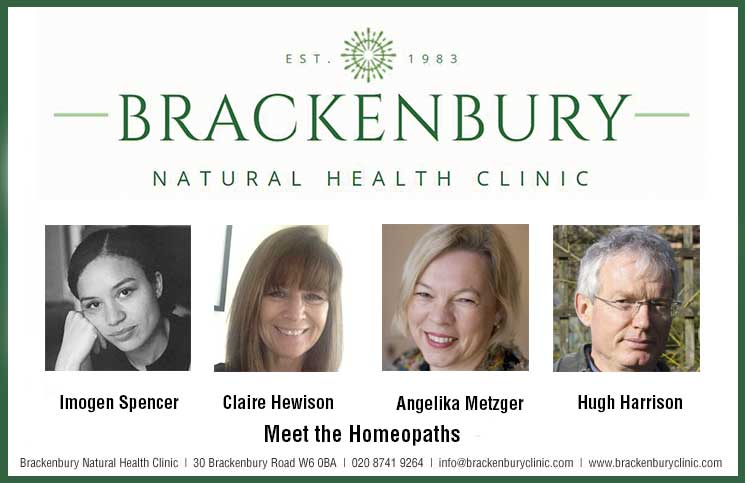 Brackenbury Natural Health Clinic: Meet the Homeopaths