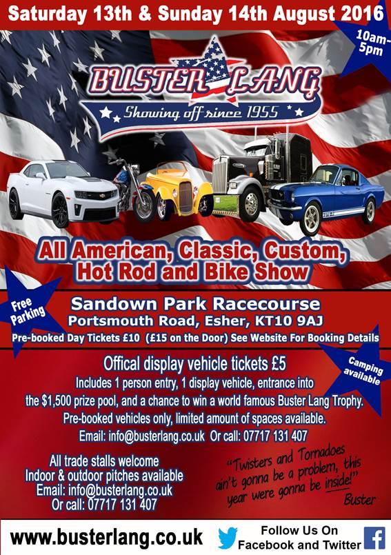 Buster Lang Car show