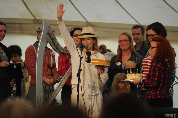 Cerys Matthews The Good Life Experience festival