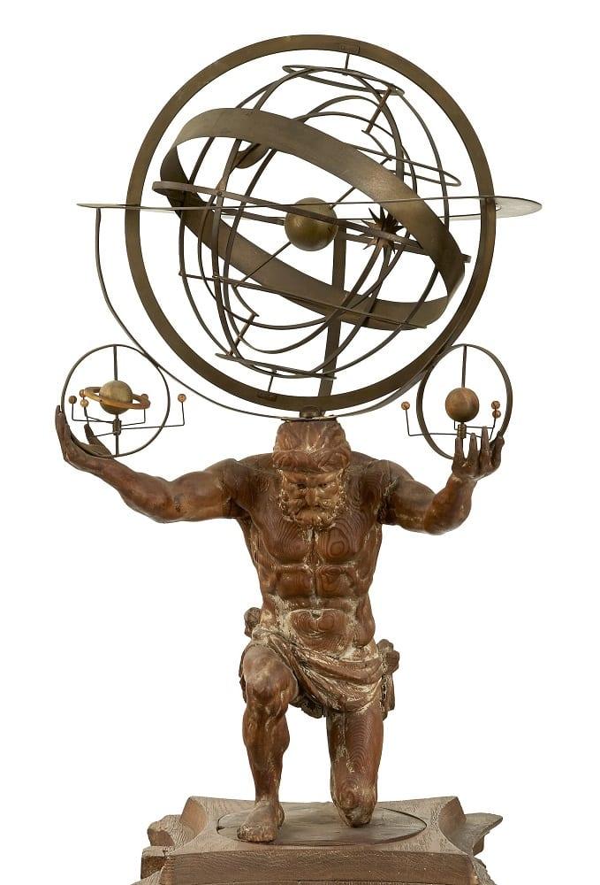 Charles Miller Ltd Ptolemaic armillary sphere-