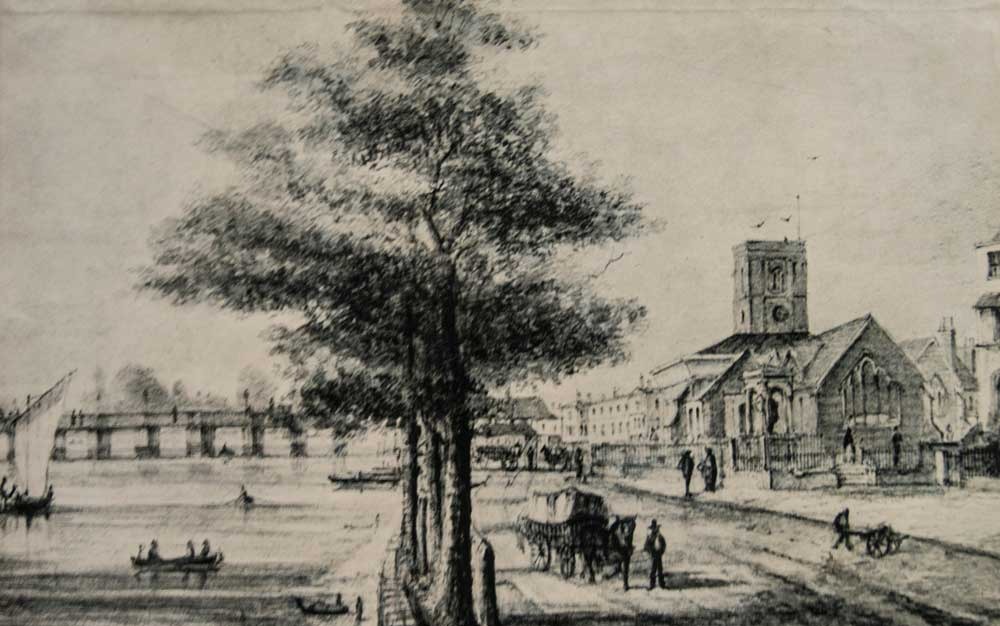 Chelsea Old Church c. 1800