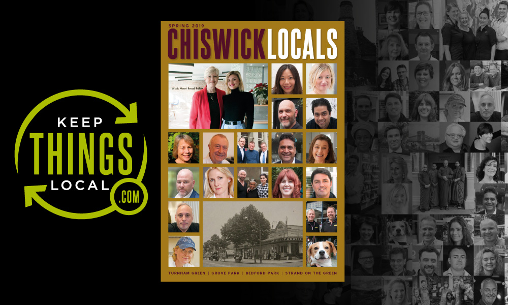 Chiswick W4: Promote your business in the next issue of #ChiswickLocals magazine