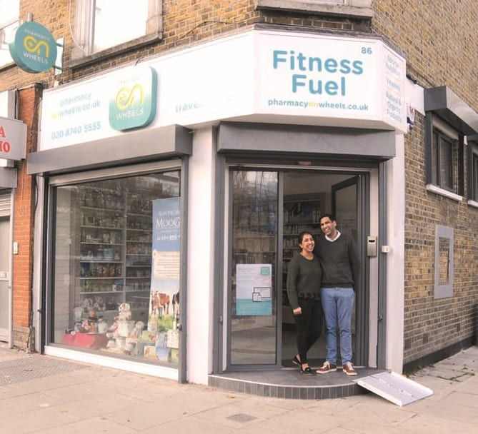 Pharmacy on Wheels, Fitness Fuel, Hammersmith Locals, Hammersmith Pharmacist, Pharmacy on Wheels, Shepherds Bush Locals, Shepherds Bush Pharmacist, Tanvi Patel, Vishal Patel, W12 Pharmacist, W6 Pharmacist, Prescription Delivery