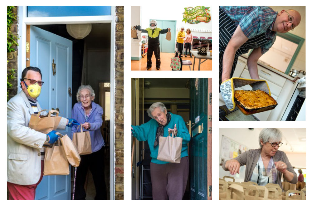 Support Your Local Community Centre: Volunteers are Shopping For The Vulnerable And Delivering Two-course Meals