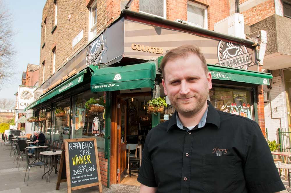 Hammersmith & Fulham Award-winning café: Rafaello Café