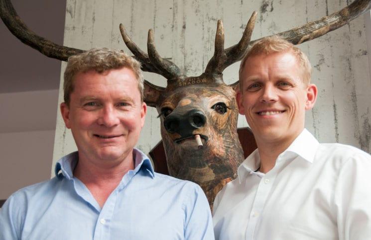 Thor Gudmundsson and Richard Okroj: The Brackenbury Wine Rooms