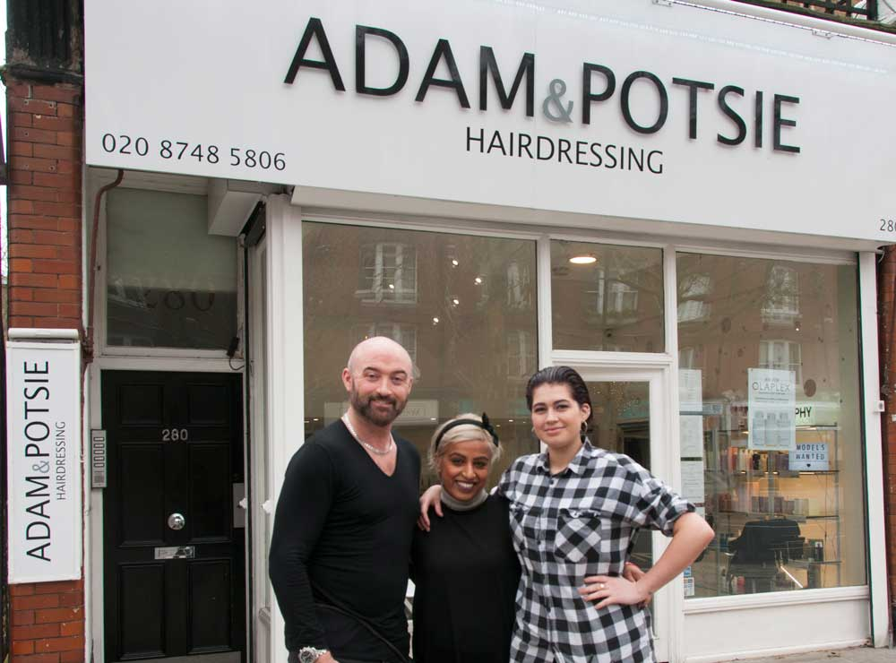 Adam and Potsie Hairdressing: An Award-Winning Salon
