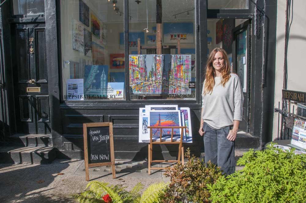 What's on: Hepsibah Gallery   Hannah van Bergen 13-19 September