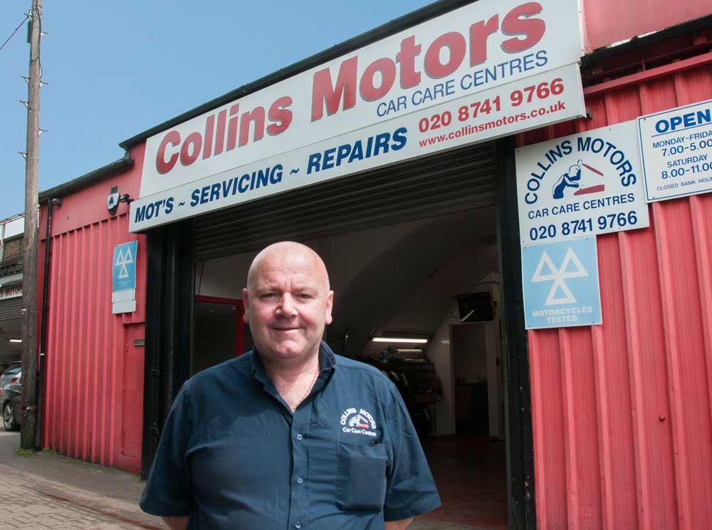 Hammersmith Garage: Collins Motors – It's A Family Affair…