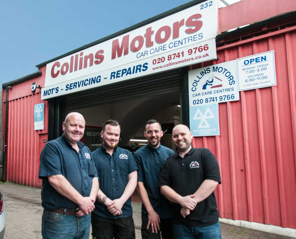 Collins Motors: The Generation Game