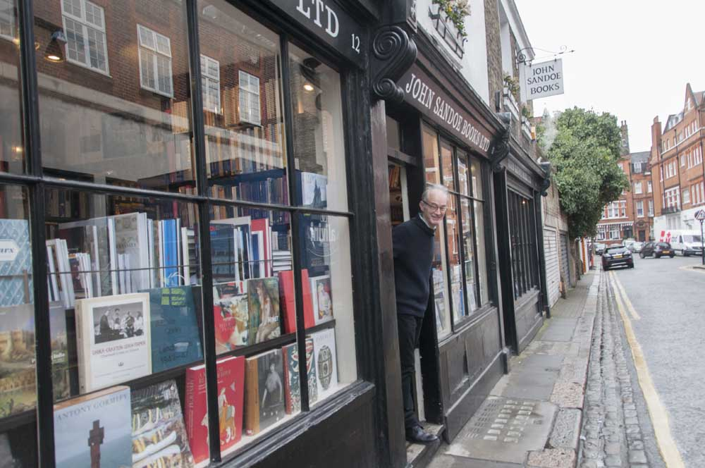John Sandoe Books 10-12 Blacklands Terrace,  Chelsea, London SW3 2SR