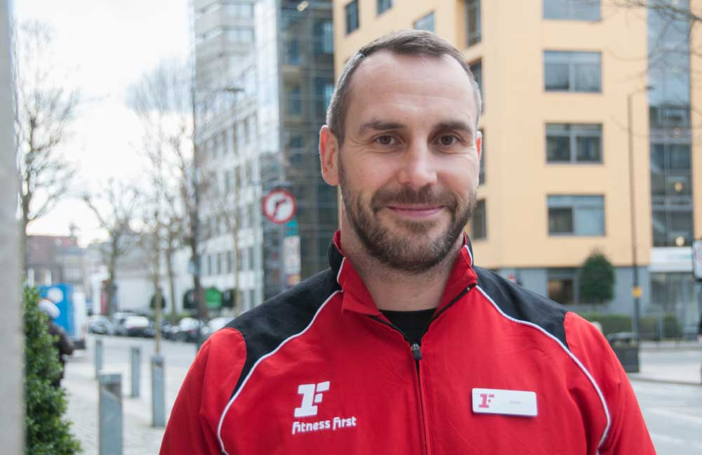 Jono Openshaw, Manager of Fitness First Hammersmith, will help you achieve your fitness goals