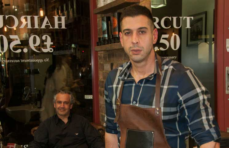 Nicos and Stavros: Hammersmith Barbers with a head for business