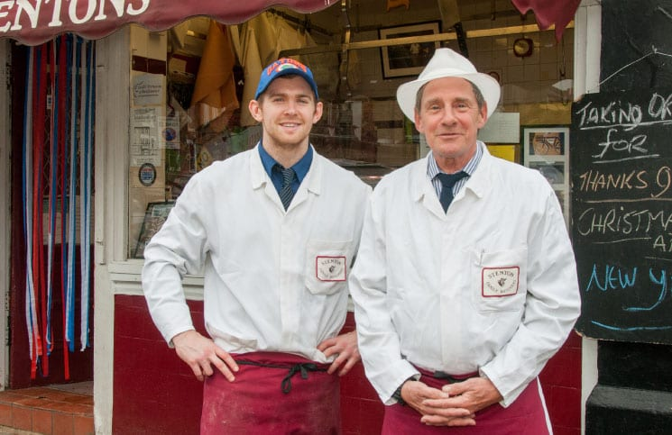 Talking turkey with the Brackenbury Village butcher John Stenton