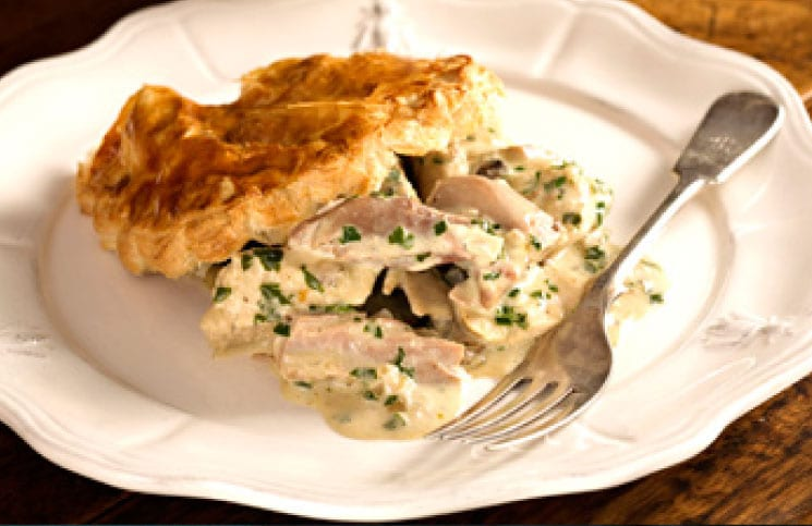 Recipe: John Stenton's Turkey Tip – Turkey and Creamy Stilton Pies