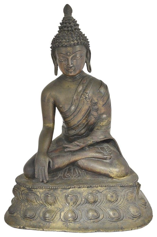 Matthew Barton Ltd Tibetan bronze Buddha 13-14 century-