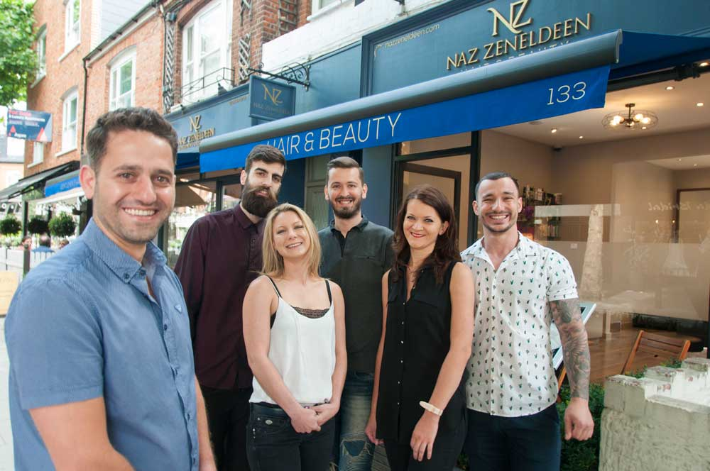 Naz Zeneldeen Hair and Beauty: The Cutting Edge