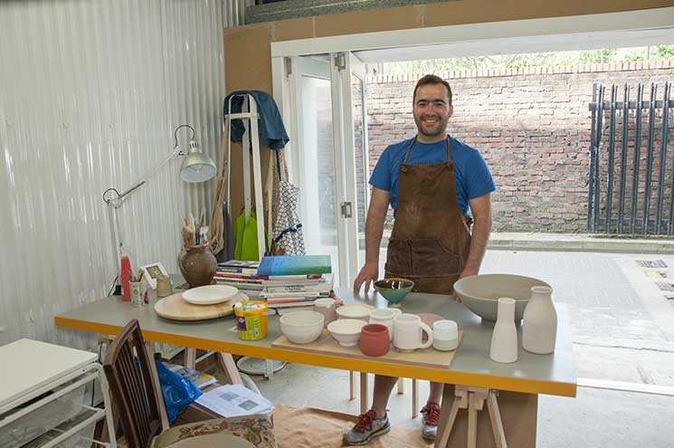 Pottery Courses and Tuition: José Carvalho Ceramics