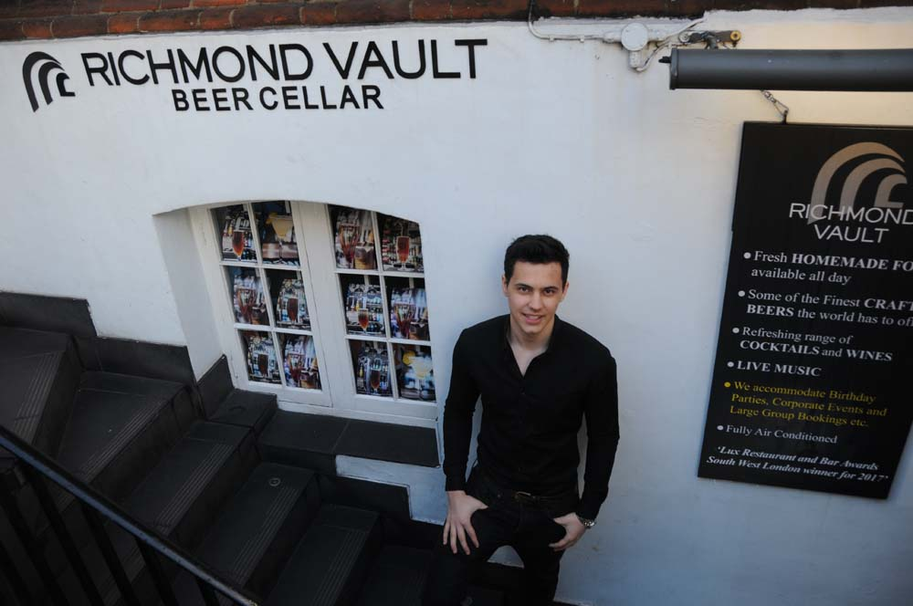 Richmond Vault Beer Cellar, Richmond Vault, Beer Cellar, Pub, Restaurant, Food & Drink, Richmond, Richmond Locals, Richmond TW9, TW9