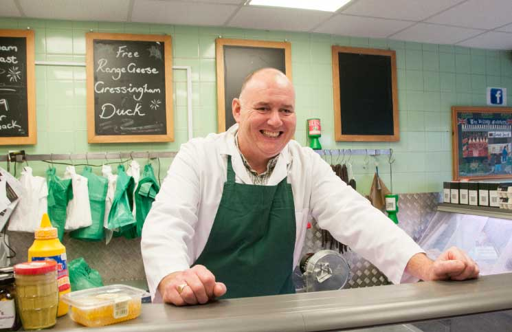 Local butcher: Terry Murray