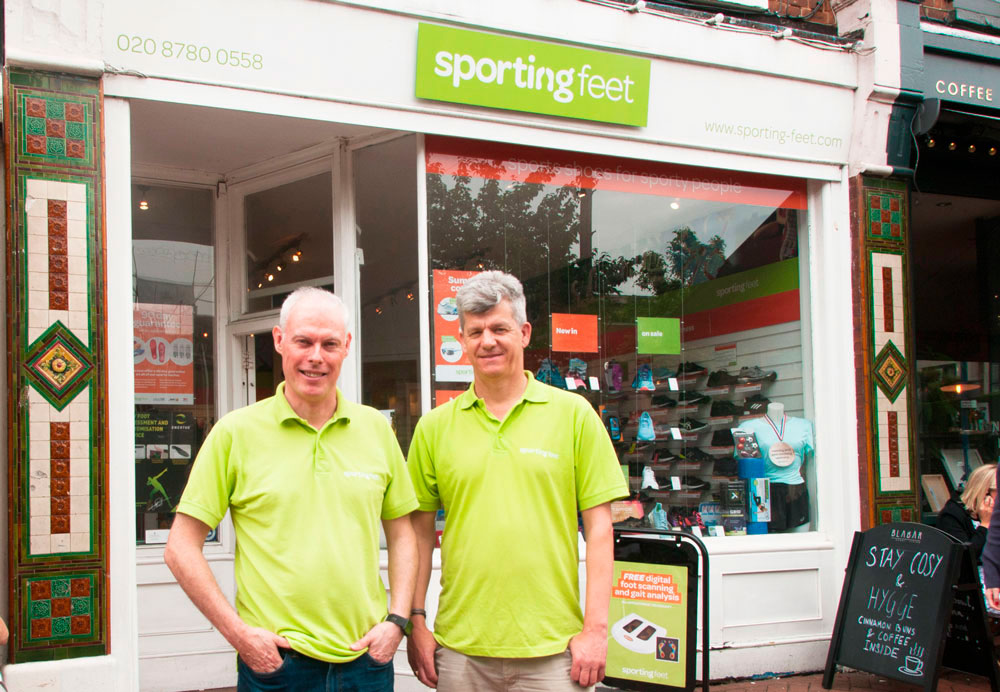 Sporting Feet – Putney: Best Foot Forward