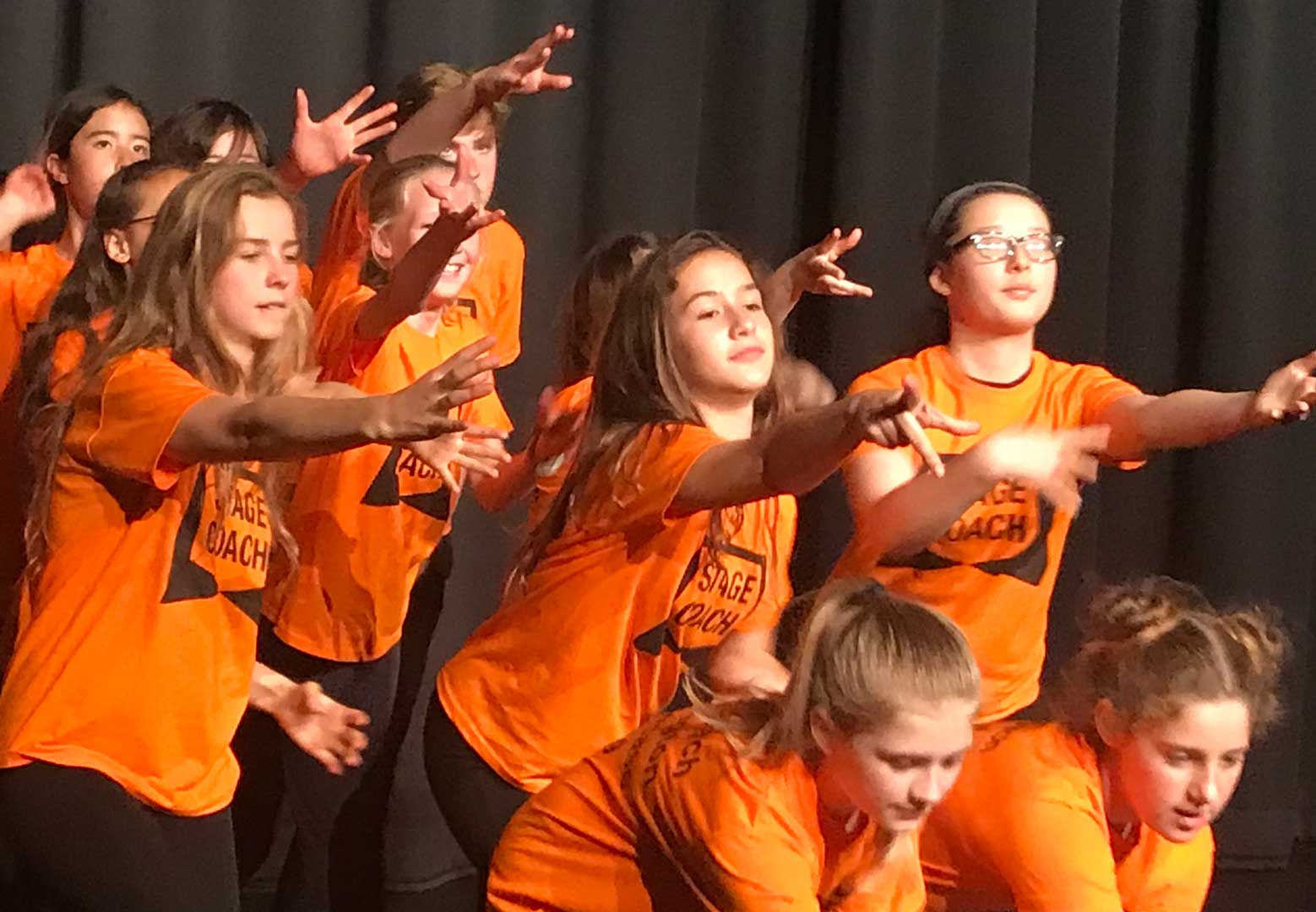 Singing Dancing Acting: The Stagecoach Kensington team teaches students aged 4-18 how to perform on and off the stage