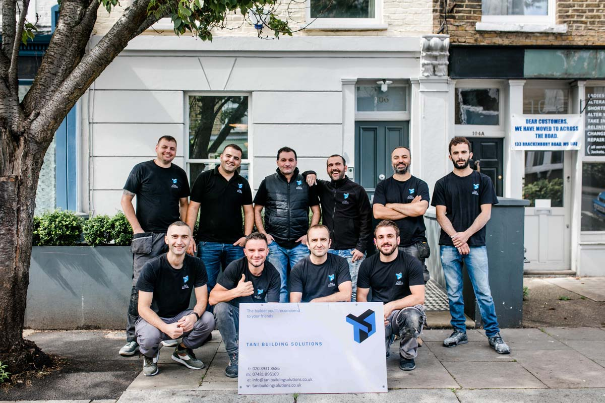 Hammersmith Builder: Tani Building Solutions – Built With Pride