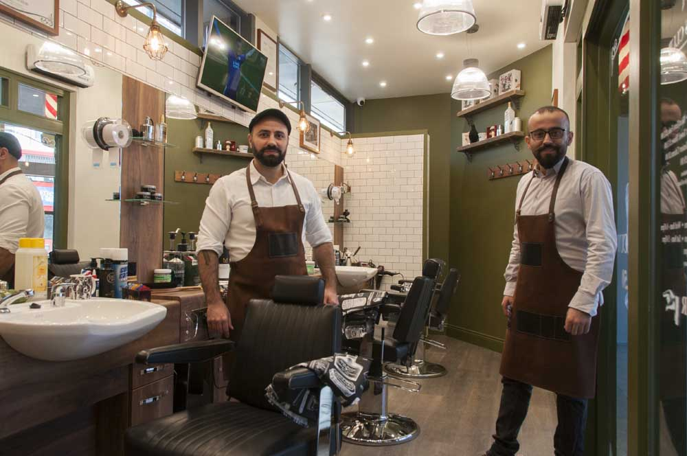 The Barbers Club: The Cutting Edge