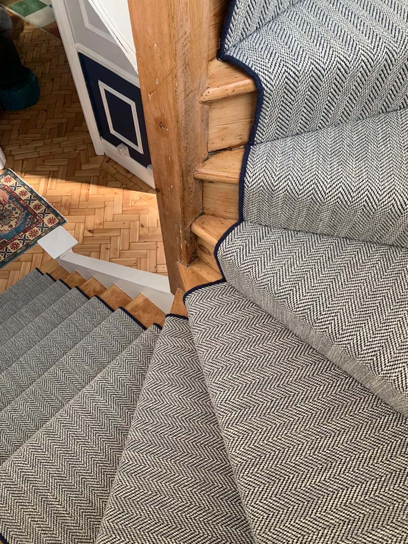 Carpet and Flooring: The Carpetstore offer the Glendover Flatweave range – Savoy Herringbone