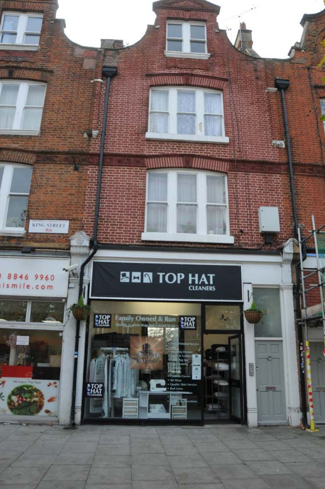 Clothing Repair, Clothing Alterations, Tailoress, Tailor, Hammersmith Locals, Hammersmith Locals Spring 2020, Top Hat, Dry Cleaner, Chiswick Locals, Mike Moran