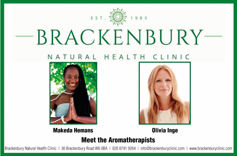 Brackenbury Natural Health Clinic: Meet the Aromatherapists – Makeda Hemans and Olivia Inge