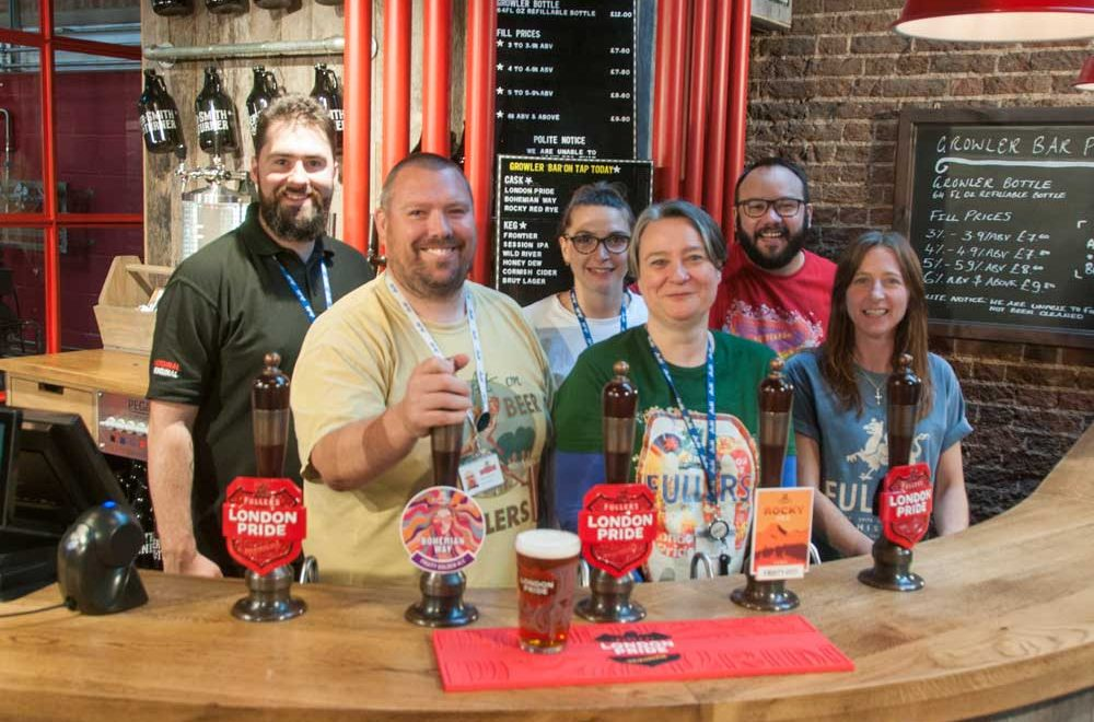 Fuller's: The Brewery Shop – Discovering Chiswick's 'Secret' Shop
