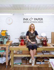 Ink and Paper: Bespoke Lettering Design – Workshops and Weddings