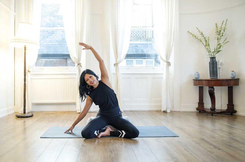 Yoga With Nahid: Yoga for Life with Nahid de Belgeonne