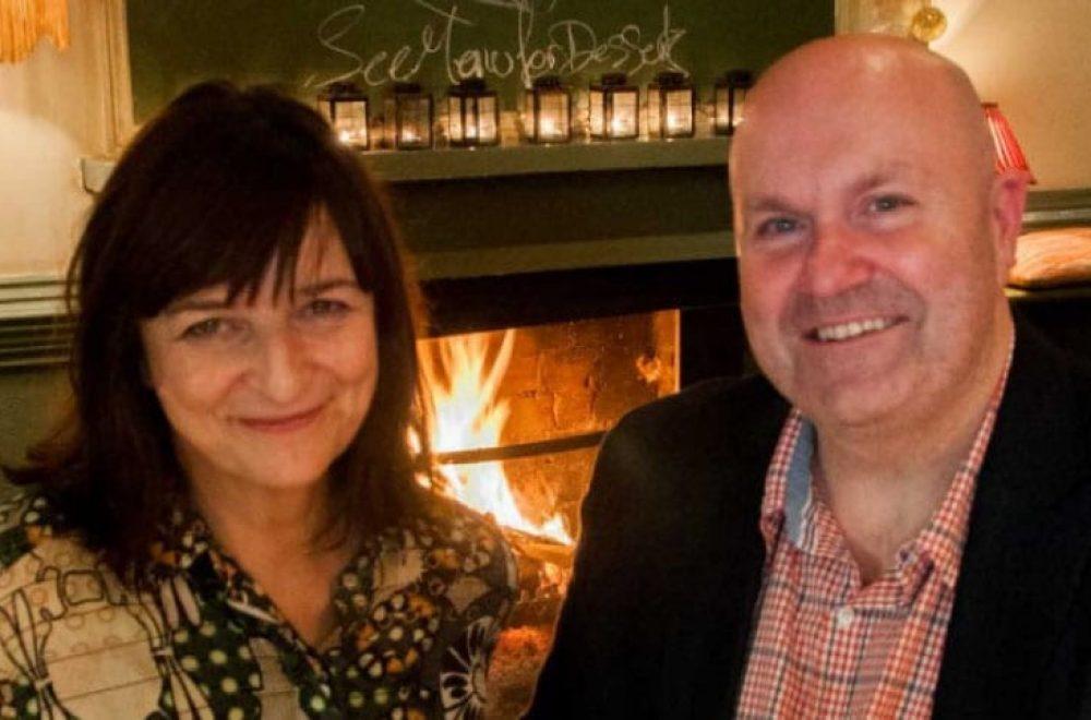 Local publicans: Michael Mann & Jill O'Sullivan