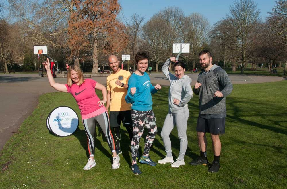 Pod Fitness: Get in Shape in the Great Outdoors