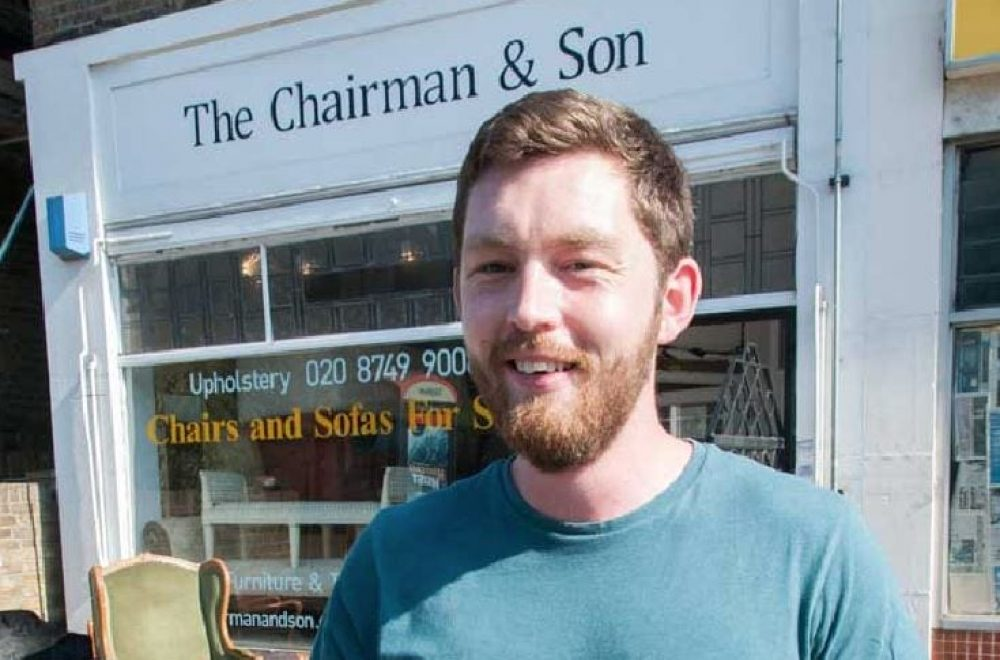 The Chairman & Son: Craftsman at Work