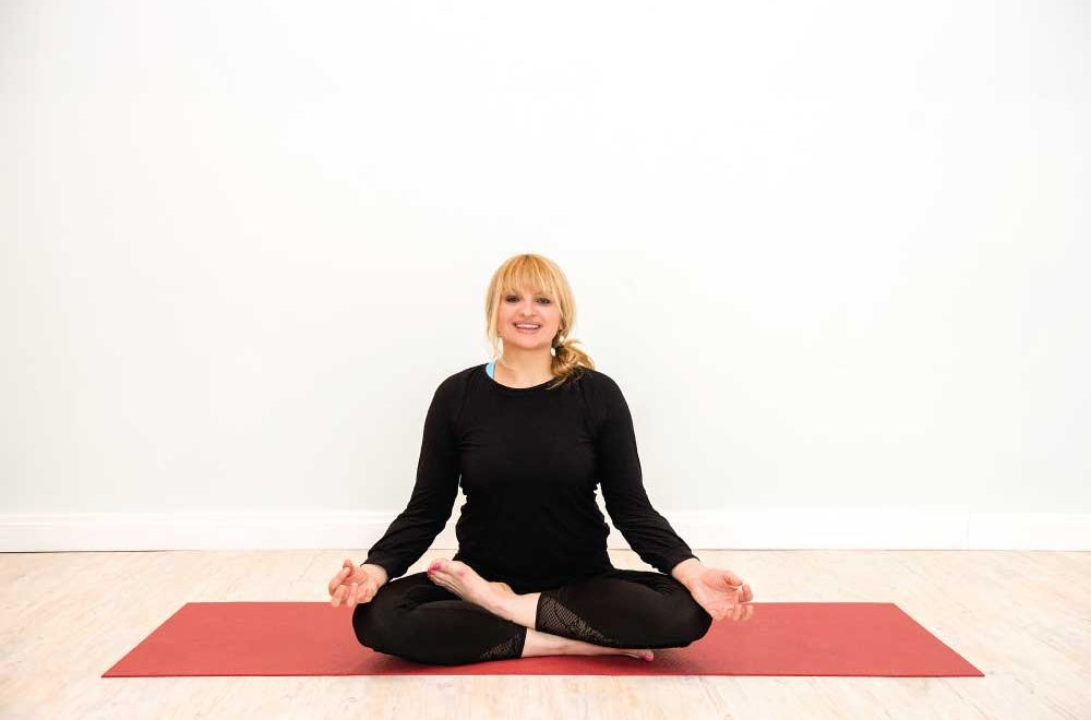 The Flying Yogi: Kasia Poremna tells us why she is passionate about the joys of teaching yoga in W12