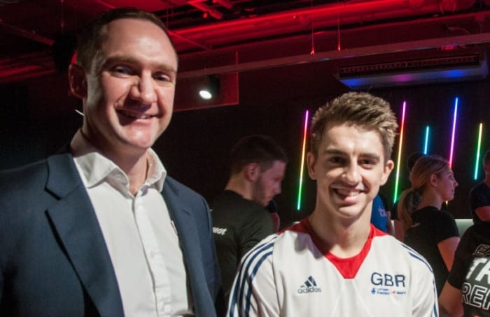 Olympic champion Max Whitlock visits all-new Fitness First